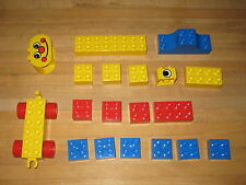 Lego Duplo 2344 Circus Basic Building Set 19 pieces Complete 1987 1989 preschool