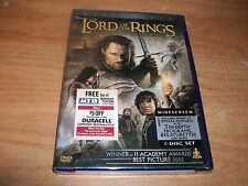 (2) The Lord of the Rings: The Return of the King + The Two Towers (DVDs 2004)