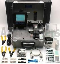 Sumitomo Type-62 Ribbon & Single Fiber Fusion Splicer w/ FC-4 Cleaver Type 62