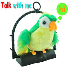 Talking Parrot Toy - Repeats/ Immitates What you Speak Or Say Xmas Gift Present