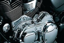 Kuryakyn Chrome Cylinder Base Engine Case Covers Harley Sportster 5 Five Speed