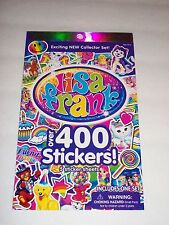 LISA FRANK - Over 400 Stickers - 5 Sticker Sheets - Kids BRAND NEW