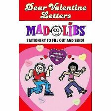 Mad Libs Junior: Dear Valentine Letters Mad Libs by Roger Price, Inc Staff...