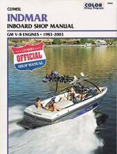 1983-2003 Indmar Inboard GM V8 Repair Manual 2002 2001 2000 1999 1998 1997 B805