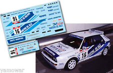 Decal 1:43 Carlos Menem - LANCIA DELTA - Rally Tour de Corse Corsica 1992