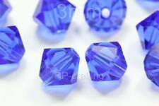 200 Austria bicone crystal beads 4mm for Swarovski 5301/5328-U pick colors #AB42