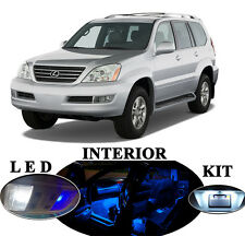 LED Package - Interior + License Plate + Vanity + Reverse for Lexus GX 470 19Pcs