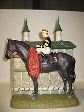 Seattle Slew Race Horse Triple Crown Winner  Decanter 4 Aces