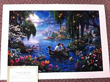 "Thomas Kinkade ""The Little Mermaid II "" Signed & Numbered Disney Lithograph"