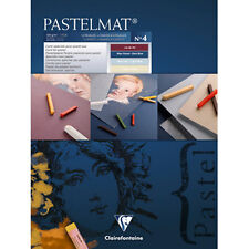 Clairefontaine Pastelmat - Pastel Card Pad -360g New Shades- 96111C - 24 x 30cm