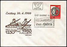 Austria 1980, 750th Anniv Of Hallein FDC First Day Cover #C36412