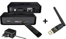 MAG 254 IPTV Multimedia player SET TOP BOX Internet + WLAN Stick