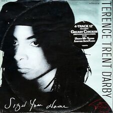 """Terence Trent D'arby Sign Your Name, Greasy Chicken, Under My Thumb Uk  12"""""""