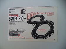 advertising Pubblicità 1965 PISTA TRI-ANG SCALEXTRIC LINES BROS e JIM CLARK