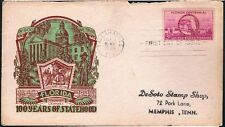 1945 Florida Centenial 100 Years C W Staehle Cachet FDC