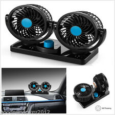 New Mini 360° All-Round Portable Autos SUV Outlet Dual Head Cooling Air Fan Tool