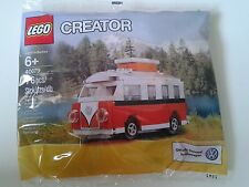 VERY RARE NEW Lego 40079 Mini VW T1 Camper Van PolyBag - Sealed