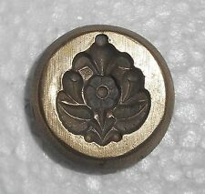 India Vintage Bronze Jewelry Die Mold/Mould hand engraved Ear Tops designs ie726