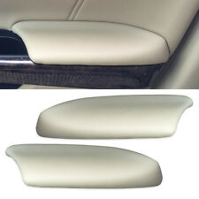 2pcs Beige Leather Front Door Panels Armrest Cover for Honda Accord 2008-2012