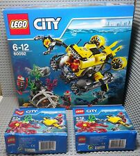 LEGO City Sets 60092 + 2 X 60090 - Neuf New