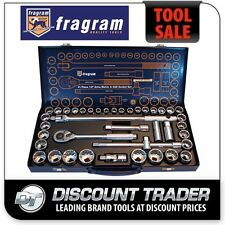 "Fragram Tools 41 Piece 1/2"" Drive Metric & SAE Socket Set - S1507"