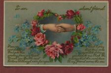 Ethel Bright, Finchley Road, Salisbury, Wiltshire. 1913  postcard  da.53c