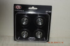 ACME 1:18 C10 MAG WHEEL AND TIRE SET - CHEAPEST POSTAGE ON EBAY