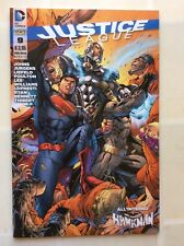 JUSTICE LEAGUE nr 9 ed LION 2012 DC ORIGINALE 1^ ed. HAWKMAN