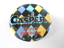 VINTAGE PINBACK BUTTON #52- 038 - CASPER - HAPPY BIRTHDAY #4