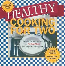 Healthy Cooking for Two, Shriver, Brenda, Good Book