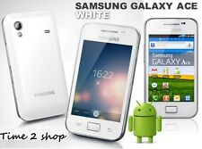 SAMSUNG GALAXY ACE PLUS GT-S7500 - bianco (sbloccato) WiFi GPS Android Phone