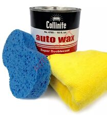 Collinite No 476s Super Double Coat Auto Wax Kit 18oz, Inc Applicator & Cloth