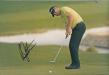 Rory SABBATINI SIGNED 12x8 Photo AFTAL Autograph COA US PGA Golf