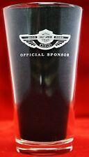HARLEY DAVIDSON 100 1903-2003 OFFICIAL SPONSOR WHITE MILLER LITE BEER PINT GLASS