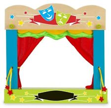Fiesta Crafts Carry Case Finger Puppet Theatre