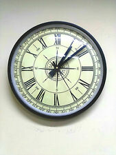 Royal India's Vintage  Compass  Style Station  wall Clock