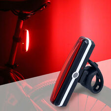 Bicycle Bike Cycling Front Rear Tail LED Light USB Rechargeable 6 Modes Lamp Set