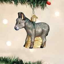 *Donkey* Nativity [12312] Old World Christmas Glass Ornament - NEW