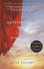 A Heartbreaking Work of Staggering Genius by Dave Eggers (2001, Paperback, Re...