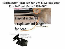 Glove box lid hinge for VW Golf and Jetta - Black ***New*** MK4 1999, 2000, 2001