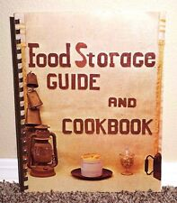 FOOD STORAGE GUIDE AND COOKBOOK by Sampson 1969 LDS MORMON BOOK CHURCH RARE PB