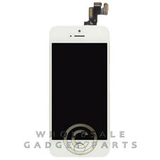 Complete LCD Digitizer Assembly for Apple iPhone 5S CDMA GSM White Display Front