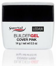 SuperNail LED/UV Builder Gel Cover Pink - .5oz (51616)
