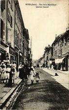 CPA Rives - Rue de la République - Quartier Central (165562)