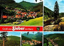 Gruß aus Sieber im Harz ,Ansichtskarte,  ungelaufen