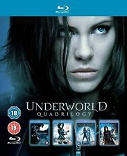 Underworld Complete All 4 Movies Blu ray Film Anthology Collection [4 Discs] ...
