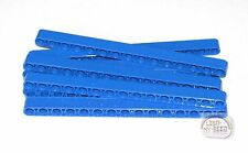 LEGO Technic - 9 x Studless Beams - 15L - Blue - Liftarms - New - (NXT, EV3)