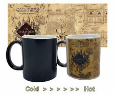 Harry Potter Color Change Coffee Mug Mischief Managed Magic Ceramic Cup