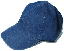 New Fashion Baseball Cap Hat Blue Jean Denim Nostalgic Wash vintage lewis style