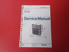 Philips 90AL860 Weltempfänger orig.Service Anleitung Manual